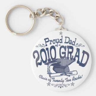 Proud Dad of 2010 Graduate Key Chain