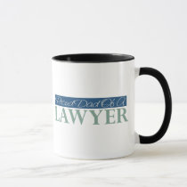 Proud Dad Of A Lawyer Mug