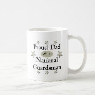 Proud Dad of a National Guardsman Coffee Mug