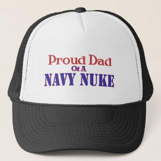 Proud Dad of a Navy Nuke Trucker Hat
