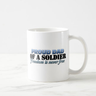 Proud Dad of a Soldier Coffee Mug