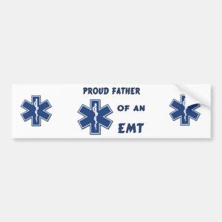 Proud Dad Of An EMT Car Bumper Sticker