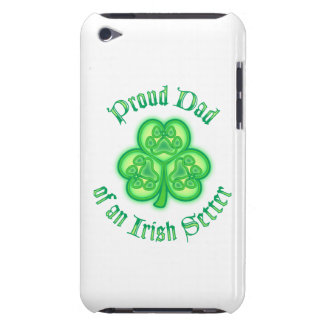 Proud Dad of an Irish Setter Barely There iPod Cases