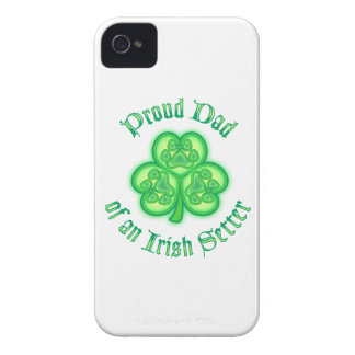 Proud Dad of an Irish Setter Case-Mate iPhone 4 Cases