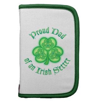 Proud Dad of an Irish Setter Organizers
