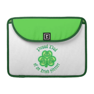 Proud Dad of an Irish Setter Sleeves For MacBooks