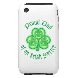Proud Dad of an Irish Setter Tough iPhone 3 Cover