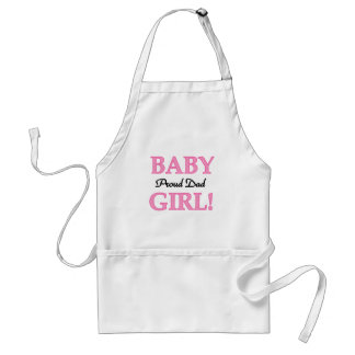 Proud Dad of Baby Girl Tshirts and Gifts Adult Apron