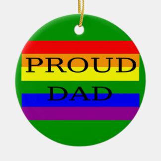 proud dad ornament