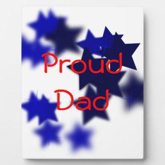 Proud Dad Photo Plaques