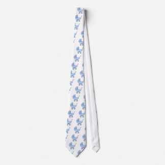 proud daddy baby boy tie