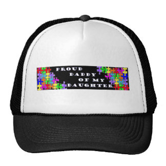 Proud Daddy Of My Daughter Trucker Hat