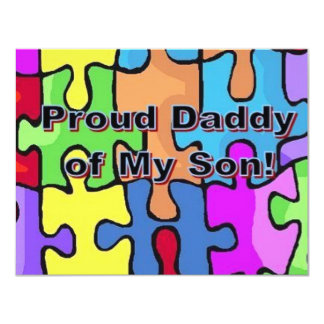 Proud Daddy of My Son! Card