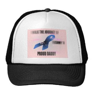 PROUD DADDY PINKT18 TRUCKER HAT