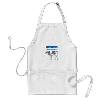 Proud Dairy Farmer Adult Apron