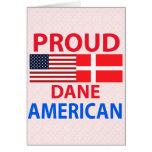 Proud Dane American Card