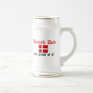 Proud Danish Dad Coffee Mugs