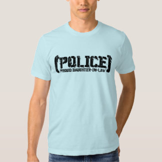 Proud Daughter-in-law - POLICE Tattered T Shirt