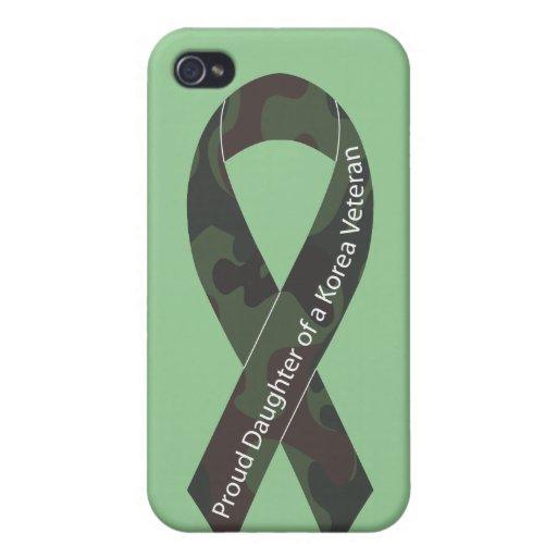 Proud Daughter Of A Korea Veteran Cover For iPhone 4