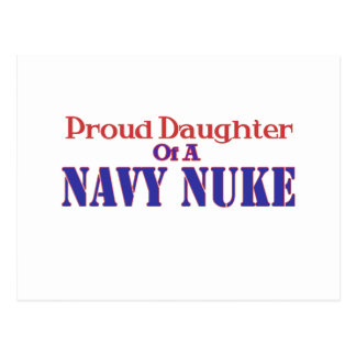 Proud Daughter of a Navy Nuke Postcard