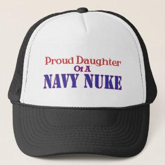 Proud Daughter of a Navy Nuke Trucker Hat