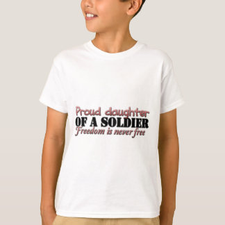Proud Daughter of a soldier T-Shirt