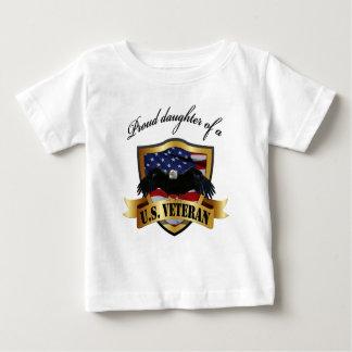 Proud daughter of a U.S.. Veteran Infant T-shirt