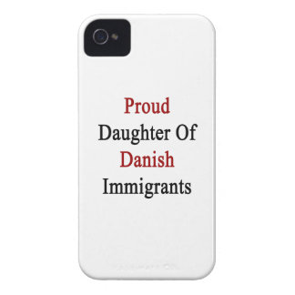 Proud Daughter Of Danish Immigrants iPhone 4 Case