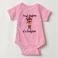 Proud Daughter of Firefighter Tshirts and Gifts