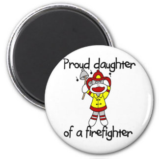 Proud Daughter of Firefighter Tshirts and Gifts Fridge Magnet