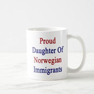 Proud Daughter Of Norwegian Immigrants Coffee Mug