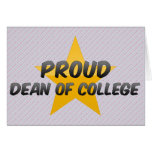 Proud Dean Of College Card
