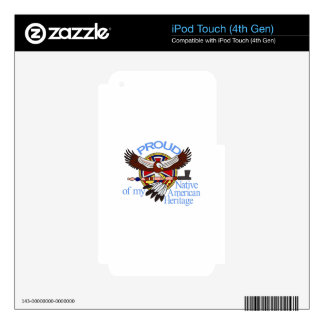Proud Decal For iPod Touch 4G