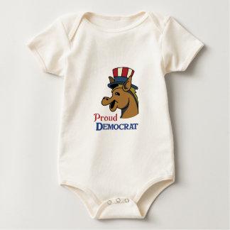 PROUD DEMOCRAT BABY CREEPER