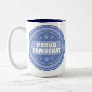 Proud Democrat, Coffee Mug