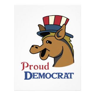 PROUD DEMOCRAT LETTERHEAD