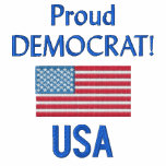 Proud Democrat USA Polo Shirt