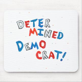 Proud democrats fun unique determined democrat mouse pad