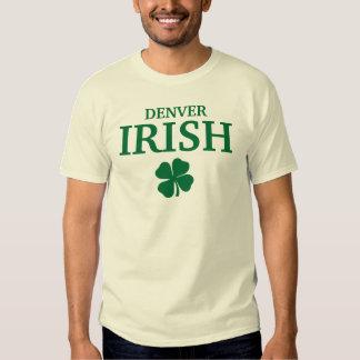 Proud DENVER IRISH! St Patrick's Day Tees