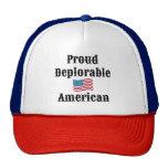 Proud Deplorable American Trucker Hat