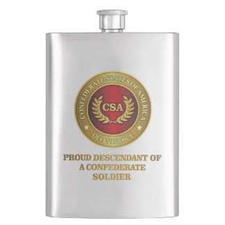 Proud Descendant Flask