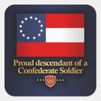 Proud Descendant Square Sticker