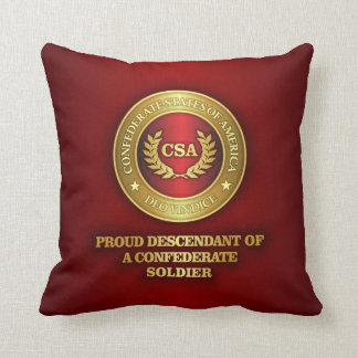 Proud Descendant Throw Pillow