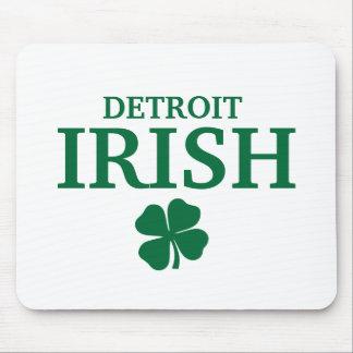Proud DETROIT IRISH! St Patrick's Day Mouse Pads