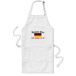 Proud Deutsch Oma Long Apron