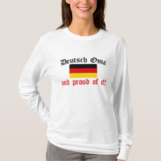 Proud Deutsch Oma T-Shirt
