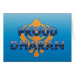 Proud Dharan, Dharan pride Cards