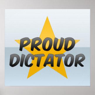 Proud Dictator Poster