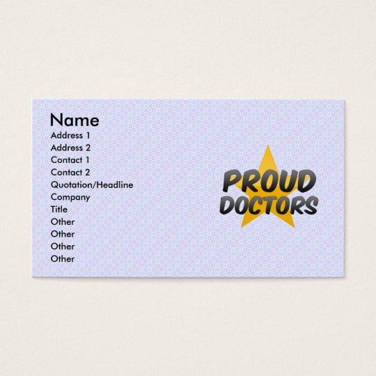 Proud Doctors Business Card