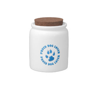 Proud Dog Lover Candy Jars